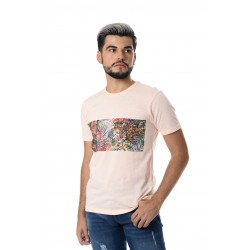 Playera estampado fauna
